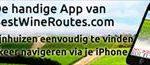 BestWineRoutes lanceert mobiele app