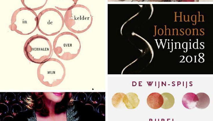 Vijf boekentips voor de wijnliefhebber