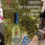 Obeidy en merwah: twee witte druiven uit Libanon