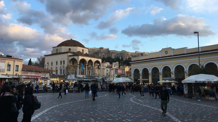 5x Wijn (en een beetje eten) in Athene