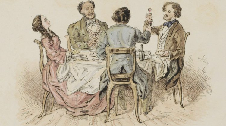 'Cherry wine, good with a tost to drink': on toast and toasting
